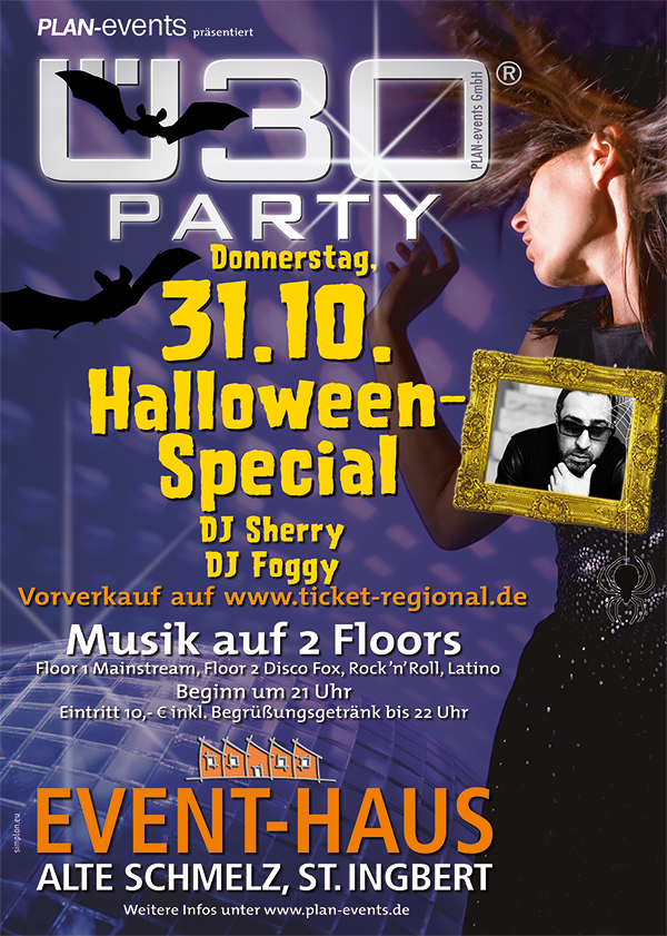 Ü30-Party Halloween Special